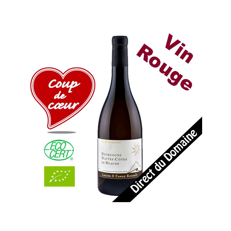 Rouge Hautes Cotes de Beaune Domaine Lucien Rocault Bourgogne